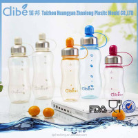 Measurement Marked Sports Portable Good Quality Newest Plastic Water Bottle