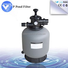 2016 new style product popular sales swimming pool top mount sand filters P series