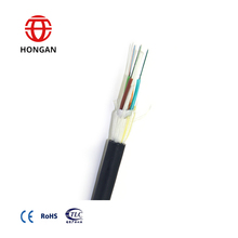 6 Core Aerail ADSS Fiber Optic Cable for Lighting-struck Area