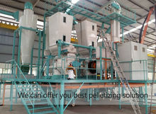 hgh capacity industrial straw hay pellet mill manufacturer