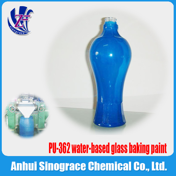water-based glass baking paint PU-362