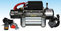 Dark Gray DC 12v/24v power source and 4*4 winch with wire rope (10000lb)