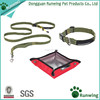 Hot Selling One Set S,M Sizes Dog Leash Collar Set COLLAPSIBLE Water BOWL
