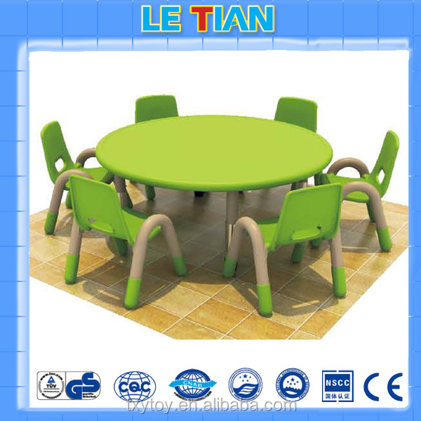 Preschool plastic kids table and chair for sale LT-2145G