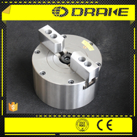 2 jaw wedge style closed center pneumatic power chuck for cnc drilling machine