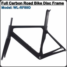 2017 carbon frame road bicycle 700C aero Disc brake 48/51/54/56/58/61 available Di2 bike frame