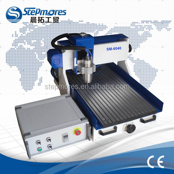 China New style!!SM6040 table top wood/metal engraving machines jinan cnc router