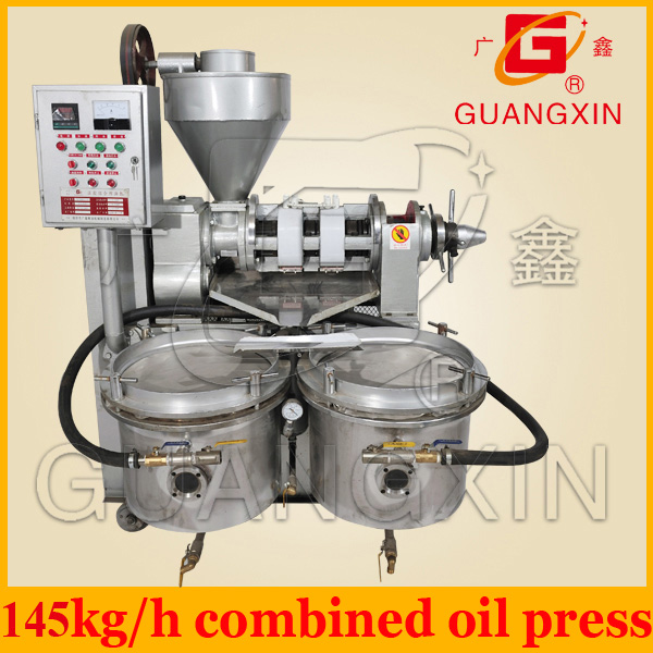 China 15 years factory oil press machine for seeds nuts beans oil processing