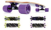 "Backfire complete longboards URBAN BEACH LONGBOARD 39"" LONG TWIN TIP SKATE BOARD SKATEBOARD CHOICE COLOURS"