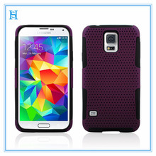 hot new products for 2014 Hybrid Phone Case For SAMSUNG Galaxy S5-Purple/black Astronoot