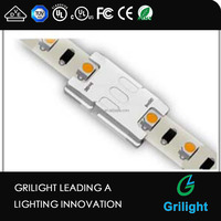 newly design led strip connector 2 pin solderless led connector for led application