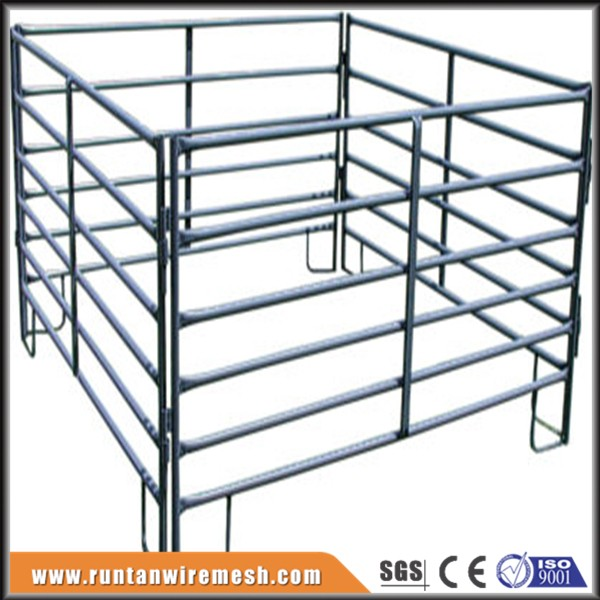 Steel pipe animal fence panel types of fences for farms
