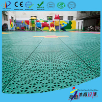 TKL250-13 easy clean / low cost / non-toxic / non-poisonous / non damage sport floor tiles for dance tennis badminton