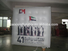 Inflatable cube Balloon for advertising event