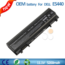 OEM high quality for Dell laptop battery price 11.1V 5200mAh replacement laptop battery for DELL Latitude E5440 E5540 laptop