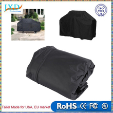 Universal Outdoor Waterproof Rain BBQ Cover Garden Gas Charcoal Electric Barbeque Grill Protective Cover 145X61X117cm Black