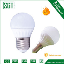 led lights home 3w 4w 5w 6w with E27/14 base