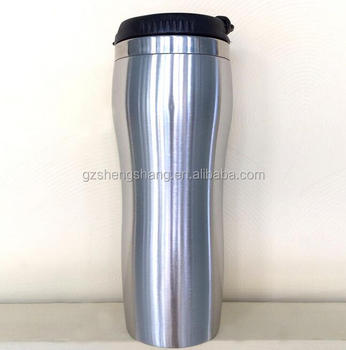 High quality stainless steel mug with lid