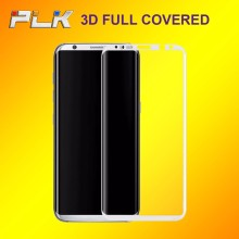 2017 Top Sale Japan Material Full Cover Tempered Glass, 9H Smartphone Screen Protectoror For Samsung Galaxy S8 Plus/