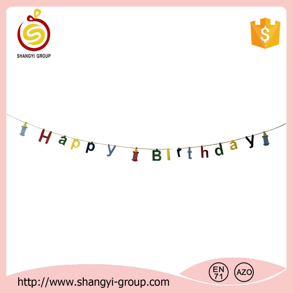 High quality party supplies birthday gift/birthday banner