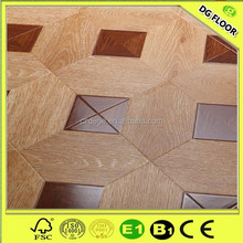 Best Price 8mm/12mm white HDF AC4 art parquet wood laminate flooring