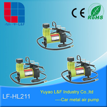 rechargeable hand car tyer / basketball inflators tool screw air compressor pumps manufacture LF-HL211