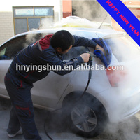 CE 30bar non boiler mobile diesel steam jet cleaning car wash machine for cars, steam cleaning machine price for sale