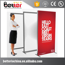 New design outdoor waterproof advertising standing led backlit fabric light box