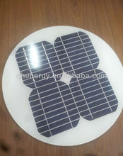 circular mono solar panel for light street