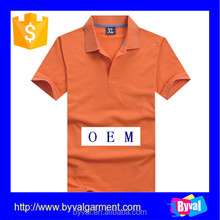 High Quality Custom Blank Bamboo Golf Shirt for Men