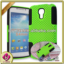 ivymax pc silicone mobile phone case for samsung galaxy s4mini