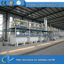 Direct Manufacturer Waste Tyre Recycle Machine to Fuel Oil
