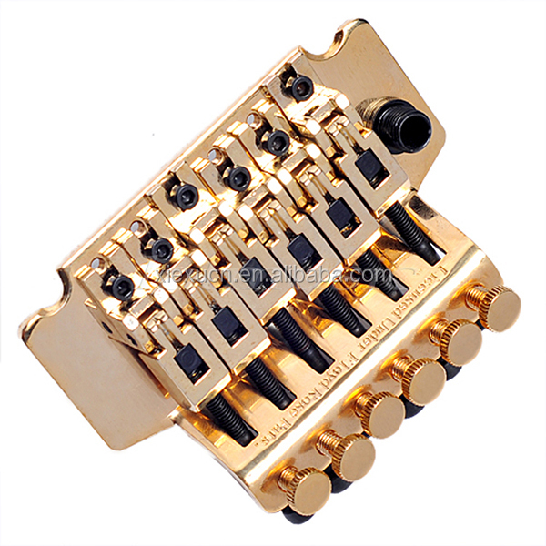 ROSE GUITAR TREMOLO BRIDGE GOLD