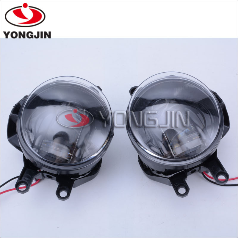 High Power 15W LED Projector Fog Lamps w/ DRL Lights For Toyota Lexus Scion