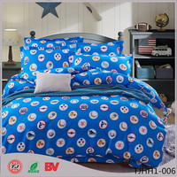 2016 Polyester Bed Sheets / Duvet Cover Active Factory Price Micro Polyester Fabric Duvet Cover Set