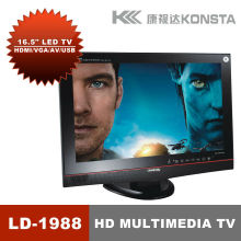 17'' tv lcd/lettore multimediale preferita supporto formato video rm/rmvb hd1080p