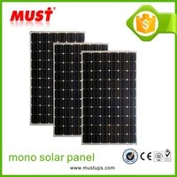 Factory Directly Offered 80W Mono Solar Panel from Trade Assurance