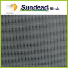 5% Plain-Weave Indoor & Outdoor solar protection sunscreen roller blind fabric for Home and Office roller blinds (Stone Gray)