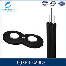 FTTH 2 Core Single Mode Bow-type Drop Fiber Optic Cable GJXFH/GJXH