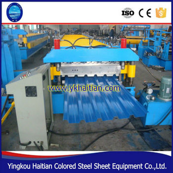 Double Deck Wall Tile Building Machine