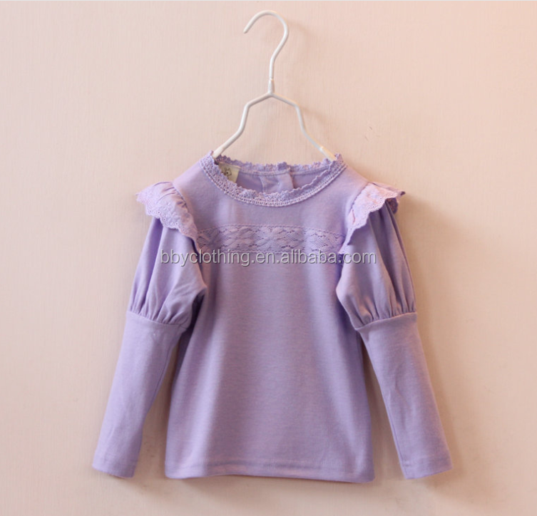 Cheap multi color girls long sleeve t shirt kids custom t for Where to buy custom t shirts