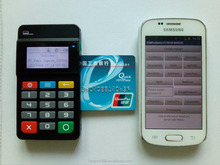 Newest payment pos NFC Mpos with EMV and Contactless Card Reader