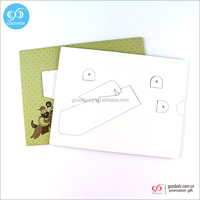 Cow Shape cardboard paper picture frame with 4*6(EU standard)