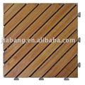 Acacia wooden flooring with PE base-A12P3030PD