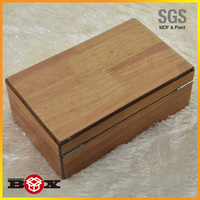 Wooden Gift Box with Hinged Lid