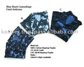 Military Uniforms , Blue Camouflage