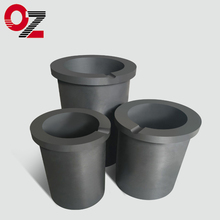 High quality hot sale graphite crucible for glass melting