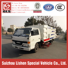JMC Truck Mount Carpet Cleaning Machine New Condition 4*2 Vacuum Street Sweeper Washing Street Trucks Road Cleaning Truck