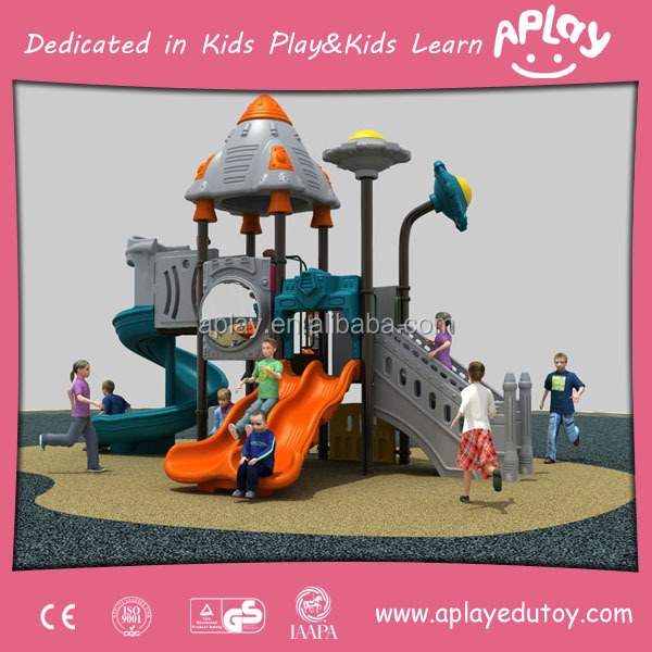 Residential physical carnival kids group fun gym activity outdoor playing equipment