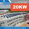 One stop solution 20kw fotovoltaic system include pv solar panel inverter for Panama market